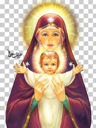 Mary Madonna And Child Child Jesus PNG