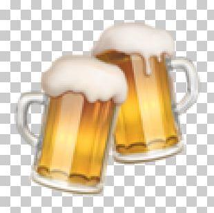 Beer Glasses Emoji Brewery Beer Brewing Grains & Malts PNG