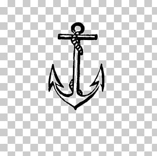 Anchor Tattoo Watercraft PNG