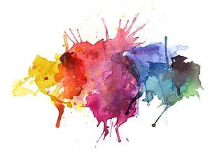 Watercolor Painting Illustration PNG