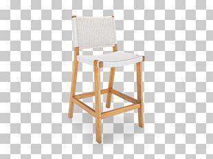 Bar Stool Chair Garden Furniture Wood PNG