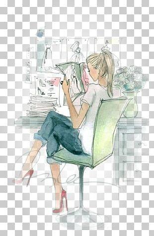 Drawing Cartoon Fashion Illustration PNG