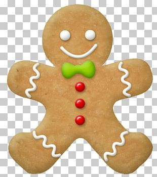 Ginger Snap Gingerbread Man PNG