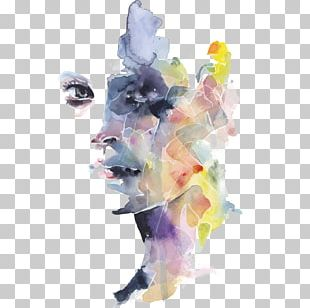 Watercolor Painting Portrait Drawing Work Of Art PNG