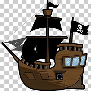 Pirate Ship Two-dimensional Space Animation 2D Computer Graphics PNG