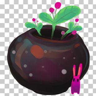 Plant Flowerpot Magenta PNG