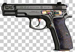 CZ 75 Česká Zbrojovka Uherský Brod CZ-USA 9×19mm Parabellum Firearm PNG