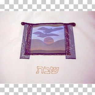 Challah Cover Window Rectangle PNG