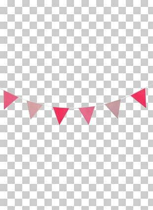 Party Garland Confetti Birthday Pink PNG