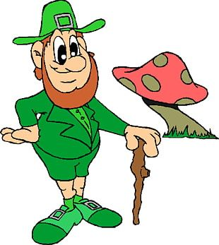 Ireland Leprechaun Saint Patricks Day PNG