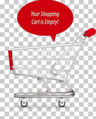 Shopping Cart Illustration PNG