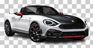 2017 FIAT 124 Spider Abarth Car Fiat 500 Convertible PNG