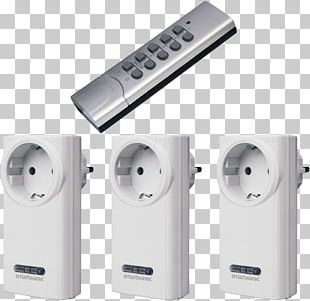 Electrical Switches Remote Controls Home Automation Kits Wireless Funksteckdose PNG