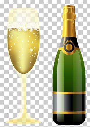 Champagne Sparkling Wine Rosé PNG