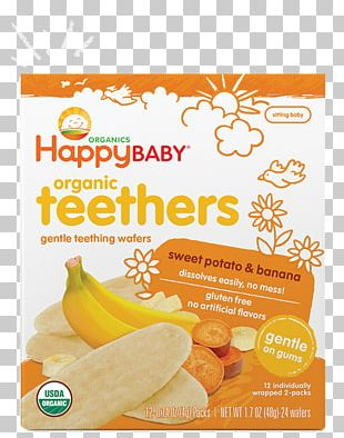 Organic Food Baby Food Happy Family Teether Infant PNG