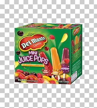 Juice Ice Pop Fruit Cup Del Monte Foods Flavor PNG