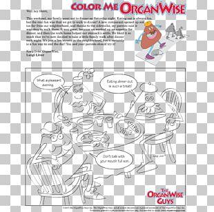 Paper Food Coloring Book Worksheet PNG