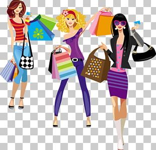 Online Shopping Fashion Illustration Clothing PNG