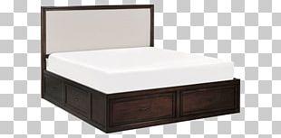Bed Frame Headboard Mattress Platform Bed PNG