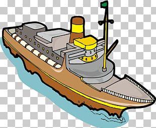 Cargo Ship Transport PNG