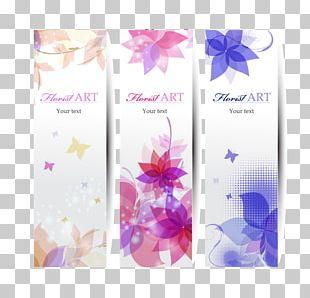 Flower Graphic Design Petal Banner PNG