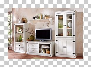 Wall Unit Furniture Bookcase Shelf Display Case PNG