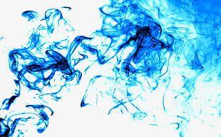 Blue Smoke PNG