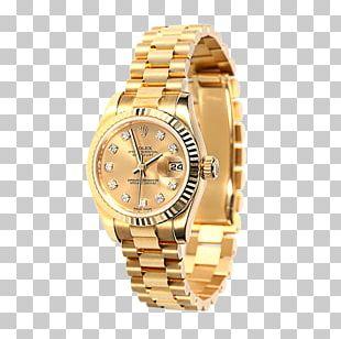 Rolex Mechanical Watch Clock PNG