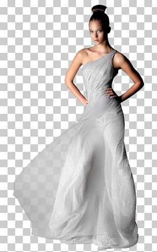 Wedding Dress Woman Evening Gown PNG