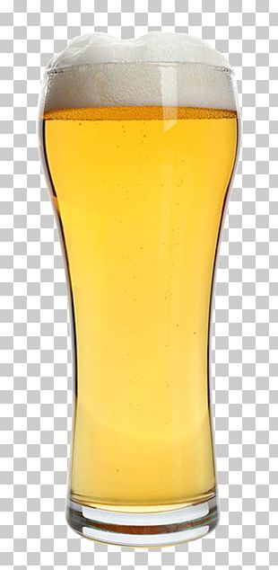 Wheat Beer American Lager Pint Glass PNG
