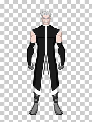 Costume Male Character Fiction Black M PNG