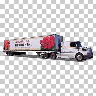 Car Semi-trailer Truck Commercial Vehicle Scale Models PNG