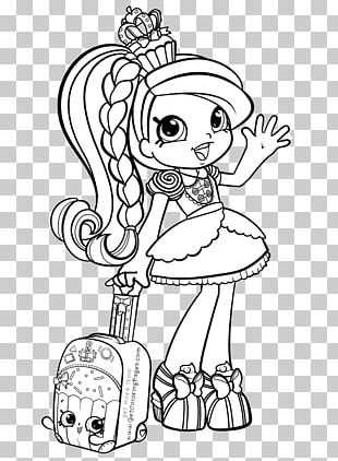 Coloring Book Shopkins Paper Child Food Coloring PNG