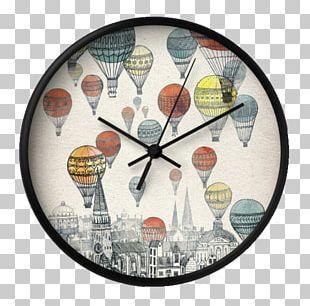 Edinburgh Glasgow Hot Air Balloon Drawing Illustration PNG