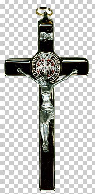 Crucifix Christian Cross Saint Benedict Medal Symbol PNG