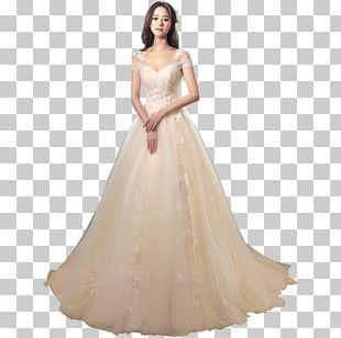 Wedding Dress White Wedding Bride PNG