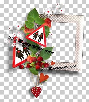 Valentine's Day Love Frames February 14 PNG