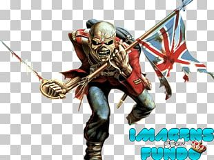 The Trooper (Live Long Beach Arena) Iron Maiden Piece Of Mind Eddie PNG