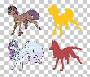 Pony Mustang Dog Pack Animal Cat PNG