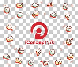 IConcept SEO Logo Search Engine Optimization Social Media Marketing Brand PNG