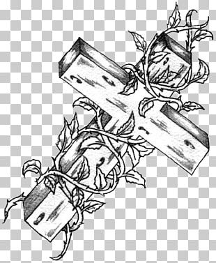 Tattoo Drawing Christian Cross PNG