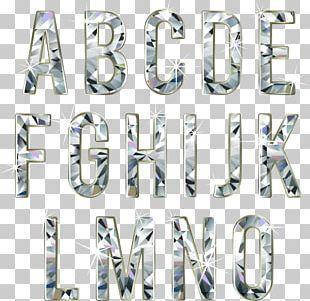 Typeface Diamond Font PNG