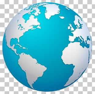 Earth Globe World Map PNG