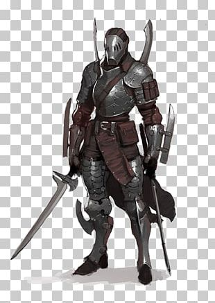 Knight Warrior Concept Art Character PNG