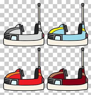 Bumper Cars Drawing PNG