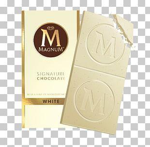White Chocolate Ice Cream Milk Magnum PNG