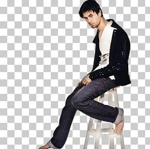 Enrique Iglesias Sitting PNG