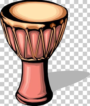 Drum Djembe Graphics PNG