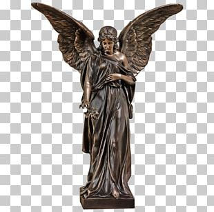Bronze Sculpture Angel Statue PNG