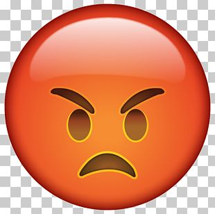 Emoji Anger Smiley Emoticon Icon PNG